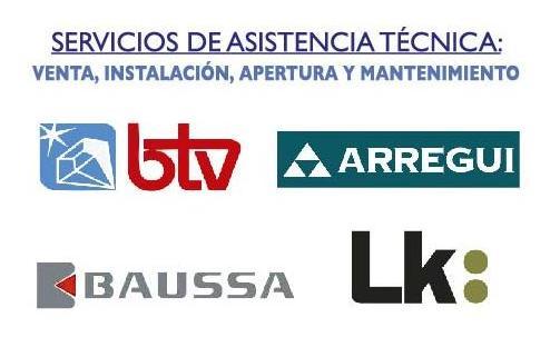 cajas, fuertes, seguridad, apertura, Almería, servicios, cerrajería, btv, arregui, baussa, lk, seguridad