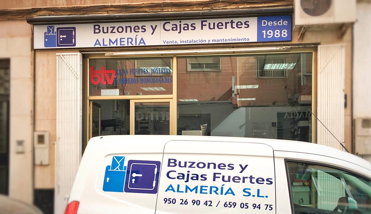 Buzones y Cajas Fuertes Almería
